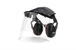 Premium Earmuffs with Plexi Visor